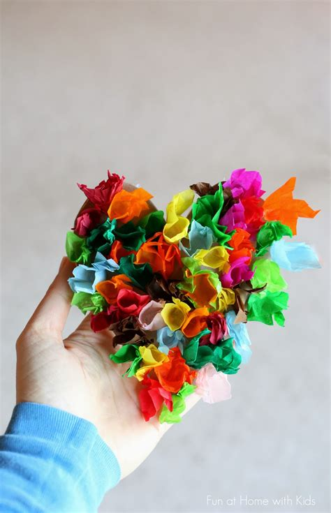 crafts to do with tissue paper 25 adorable shaped craft ideas for preschool
