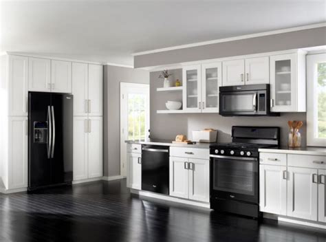 kitchen designs with black appliances how to decorate a kitchen with black appliances