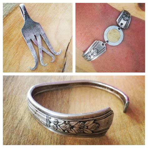 How To Make Silverware Jewelry