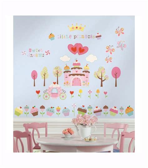 cupcake wall stickers k 248 b roommates wallstickers cupcake land