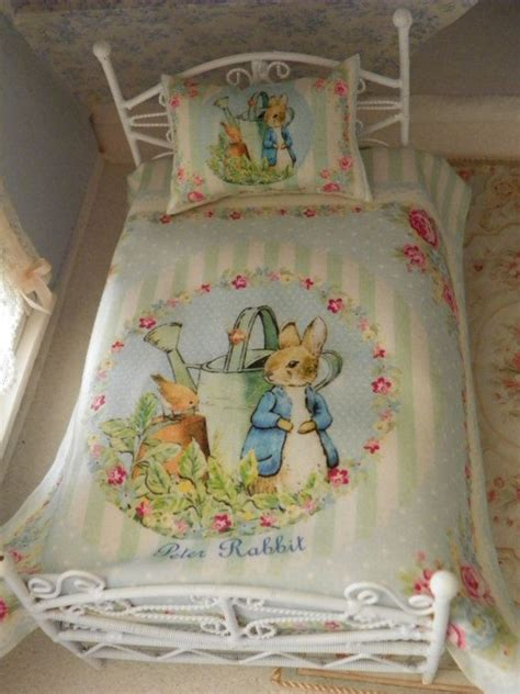 miniature crib bedding 1000 images about dollhouse nursery beatrix potter on