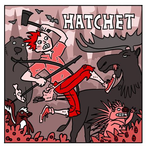 hatchet book pictures space station nathan hatchet the cover