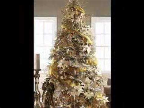 brown decorated tree gold tree decorating ideas