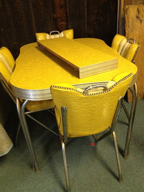 vintage kitchen tables 1950s style retro dining set formica table 4 retro