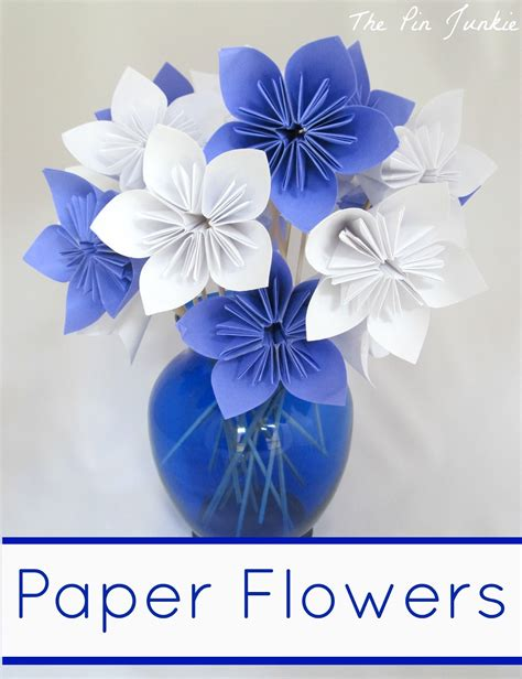 how to make paper origami flowers for paper origami flowers the pin junkie