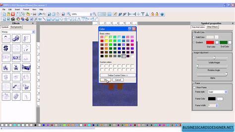 photo designing software free business logo designer creater maker designing