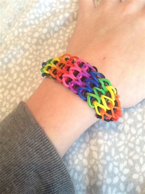 make rubber band jewelry how to make a single rubber band bracelet snapguide