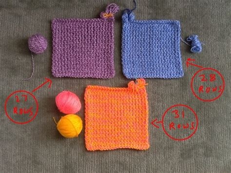 how to knit a square in the knit squares free pattern loomahat