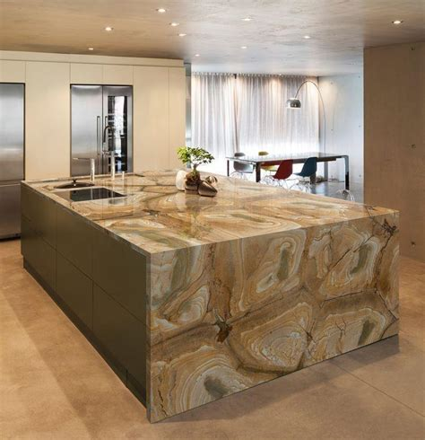 granite kitchen islands quartzite countertops