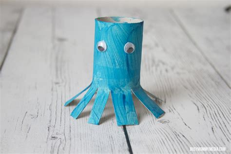 octopus toilet paper roll craft toilet paper roll octopus craft