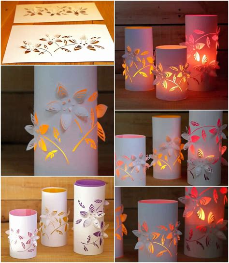 lantern crafts for diy dimensional paper lanterns diy craft projects