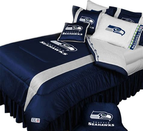 seahawks bed set nfl seattle seahawks comforter pillowcase football bedding
