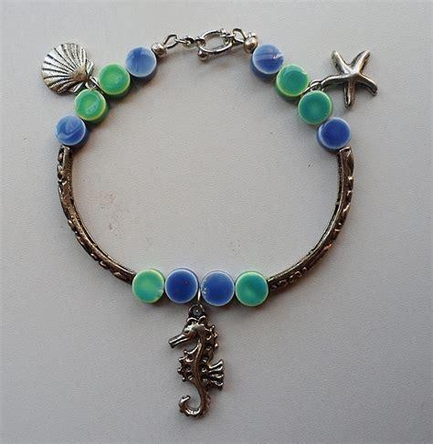 sea bracelet sea charms bracelet anklet tutorial free spirit handmade