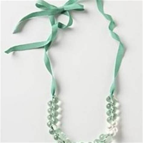 ribbon for jewelry interchangeable briolette ribbon necklace diy jewelry