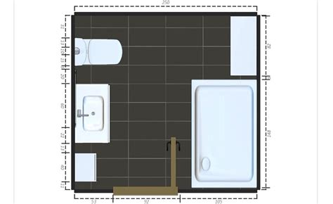 bathroom floorplans 15 free sle bathroom floor plans small to large