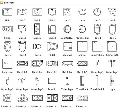 floor plan with electrical symbols floor plan symbols