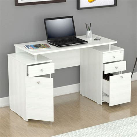 white writing desks white writing desk with drawers storage gift ideas for