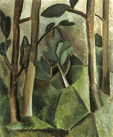 pablo picasso nature paintings pablo picasso cubism interested in residential garden