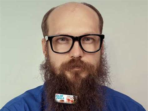how to put in your beard a w is putting mini ads in s beards business insider