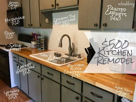 cheap kitchen updates kitchentoday updating a kitchen on a budget 15 awesome cheap