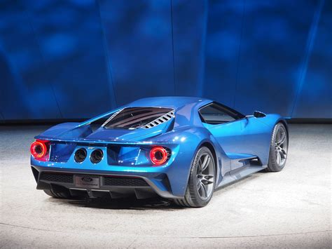 Car Wallpaper 2017 Team Blue by 2017 Ford Gt At 2015 Naias Rear Photo Blue Oval