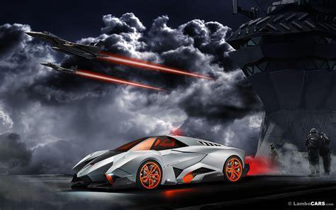 Lamborghini Egoista Wallpaper HD #1450 Wallpaper