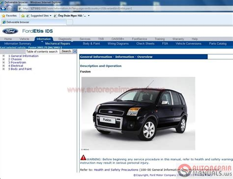 Ford Etis by Auto Repair Manuals Ford Etis Technical Information 11