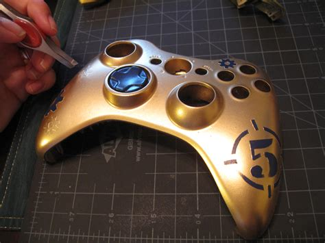 spray paint xbox 360 controller creating a customized xbox controller portfolio