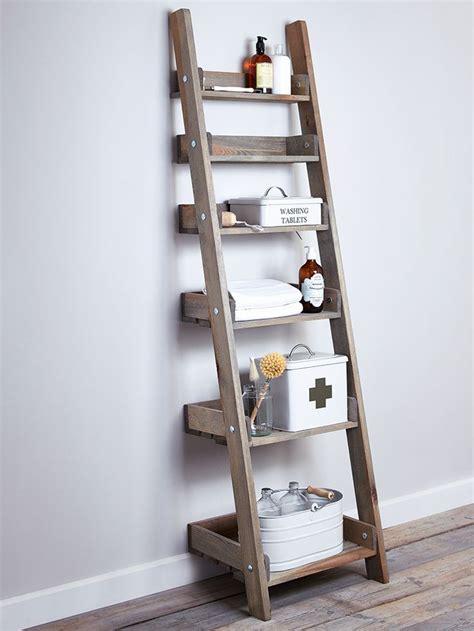 leaning ladder shelves 25 best ideas about ladder shelves on leaning