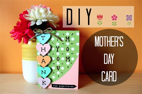 how to make simple mothers day cards diy easy s day card i simple