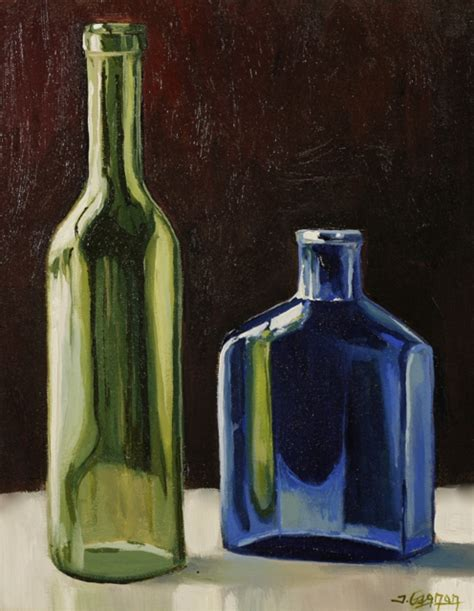 acrylic paint on glass colored glass acrylic painting lesson tim gagnon studio