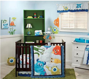 monsters inc crib bedding set save now on crib bedding sets disney baby