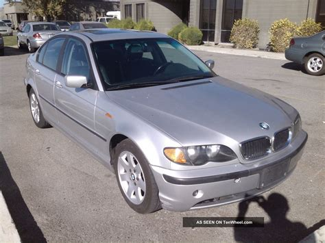 2002 Bmw 325i Specs by 2002 Bmw 3 Series 4 Door Sedan Rwd 325i Specs
