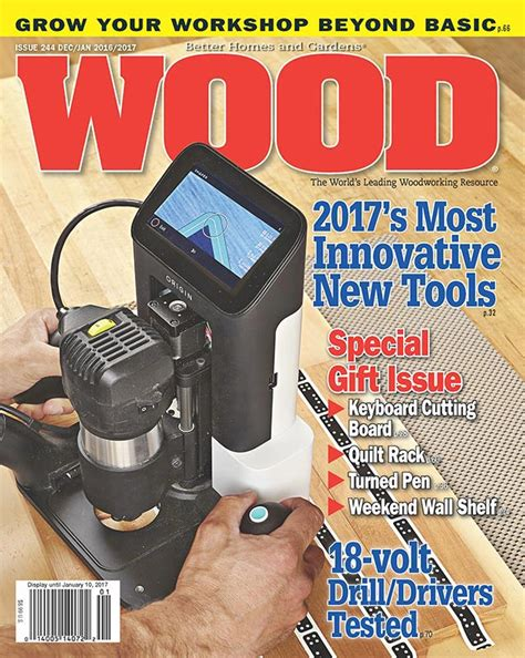 woodworking magazine index wood issue 244 december 2016 january 2017 woodworking