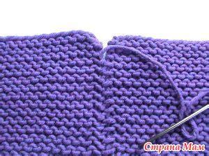 how to knit pieces together золушка кукла перевертыш вяжем руки волосы и аксессуары