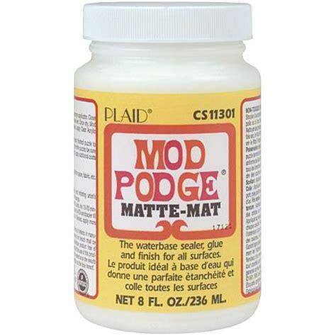 how to decoupage with mod podge mod podge decoupage matte finish 3527613 hsn