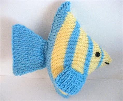 You To See Fish Knit Amigurumi Pattern By