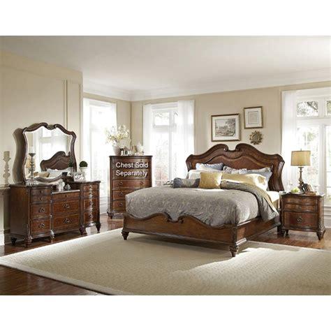 cal king bedroom furniture set marisol brown 6 cal king bedroom set