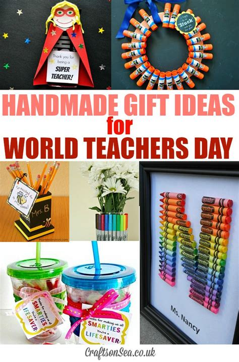 gift crafts ideas world teachers day and teachers gift ideas crafts on sea