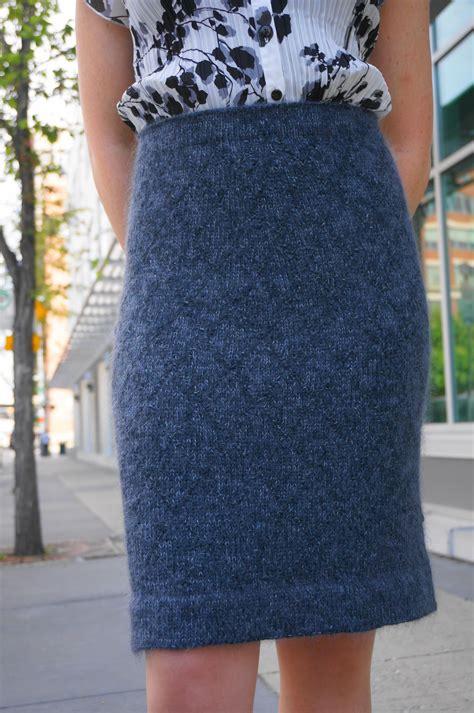 knitted skirt pattern the helen pencil skirt knitting patterns and crochet