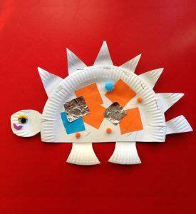 stegosaurus paper plate craft 1000 images about dinosaurussen krokodillen on