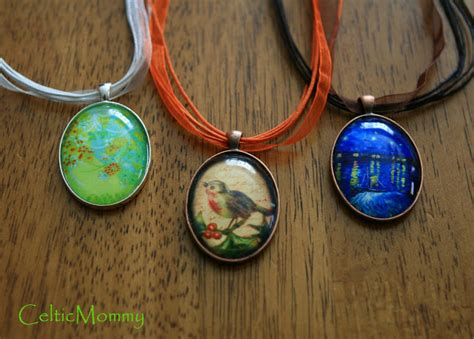 How To Make Diy Cabochon Necklace Collections Of Pendants