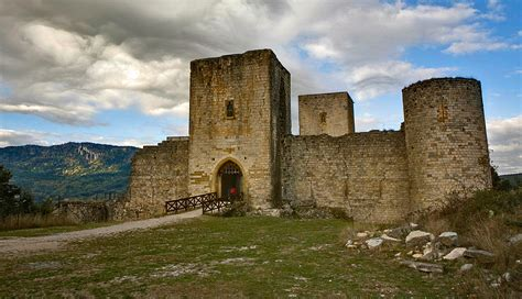 Definition Of Kitchen cathar castles chateau view quillan
