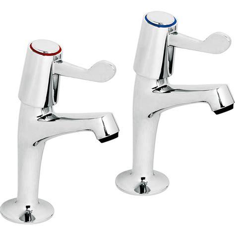 kitchen sink pillar taps contract kitchen lever sink pillar taps toolstation