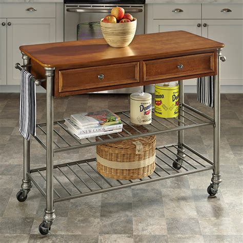 home styles orleans kitchen island home styles the orleans kitchen cart kitchen islands and carts at hayneedle