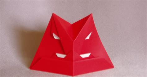 origami human figure fumblings of an origami novice masks and human figures