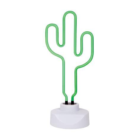 cactus with lights leo sunnylife cactus neon light large