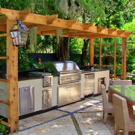 back yard kitchen ideas 30 outdoor kitchens and grilling stations