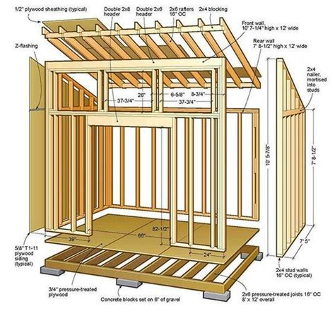 how to frame a floor best 25 shed plans ideas on how to build