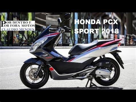Pcx 2018 Logo by Honda Pcx Sport 2018 Muitos Detalhes